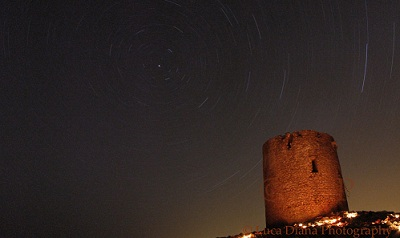 Ancient Stars over an Ancient Tower