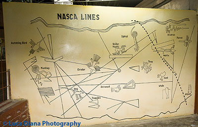 Map of the Nazca Lines (Click for larger image)
